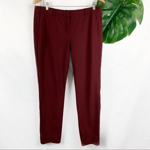 Theory Stretch Wool Relaxed Straight Pant Size 12